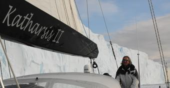 "Rejs ""Katharsis II"" dookoła Antarktydy: decyzja skippera [WIDEO]"