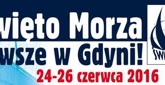 Święto Morza 2016 - w ostatni weekend czerwca w Gdyni