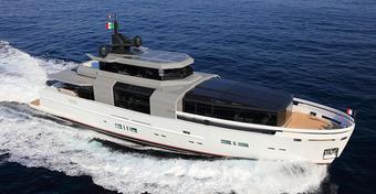 Włoska stocznia Arcadia stworzyła superjacht A100