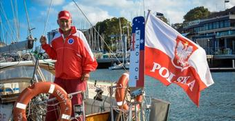Grzegorz Węgrzyn płynie z Australii do Nowej Zelandii