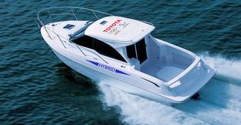 Toyota przeprowadzi testy jachtu z napędem hybrydowym